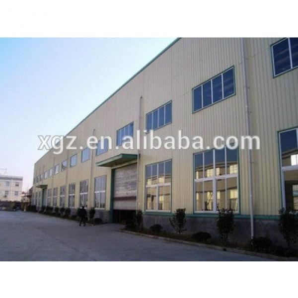 pre engineered removable q345 steel structure steel building #1 image