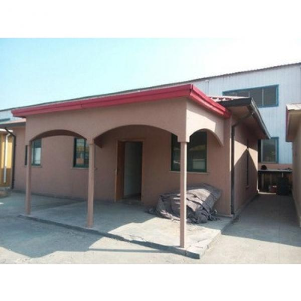cheap modern prefab house designs for kenya with exterior imitation stone paint #1 image