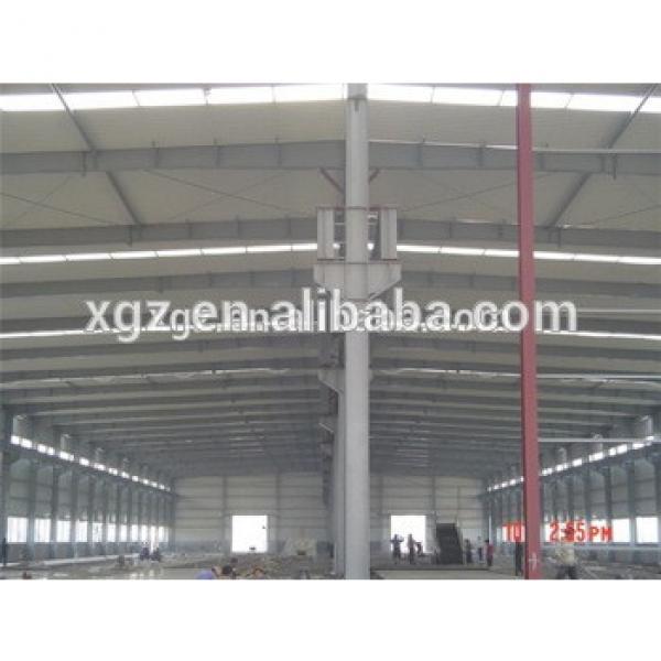 prefabricated steel frame pre-engineering steel structure #1 image