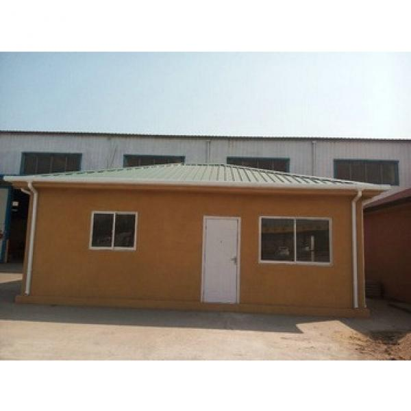 Prefab house with precast foam cement wall panel #1 image