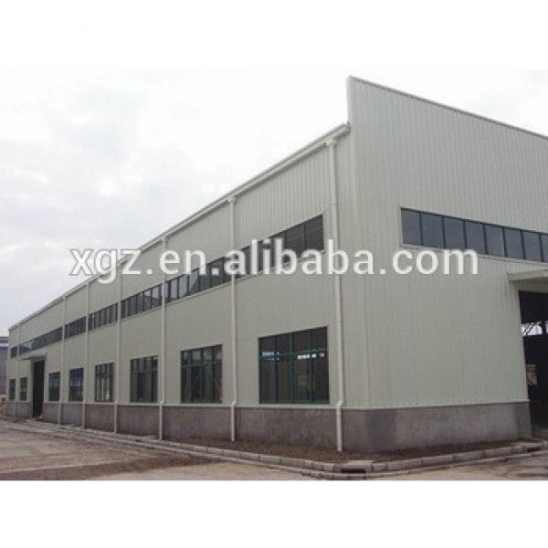 economic multipurpose prefabricated steel structure building #1 image