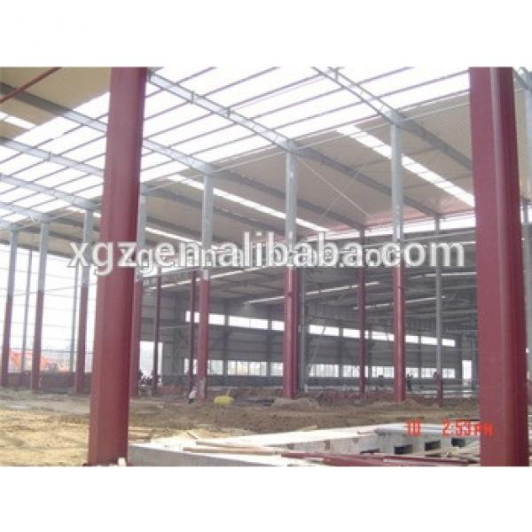 demountable clear span steel structure godown #1 image