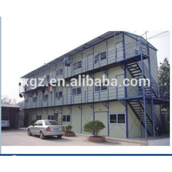 Steel Structure Prefabricated House for Temporary Dormitory #1 image
