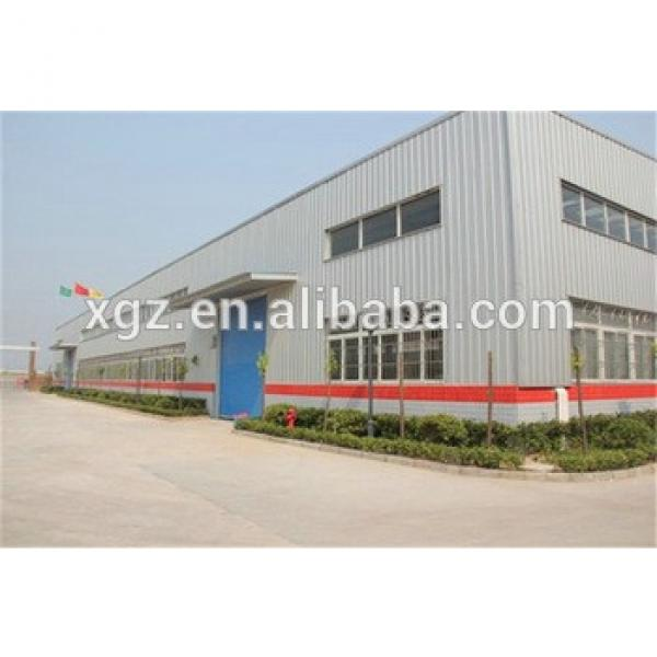 high strength durable steel structure cow feed house #1 image