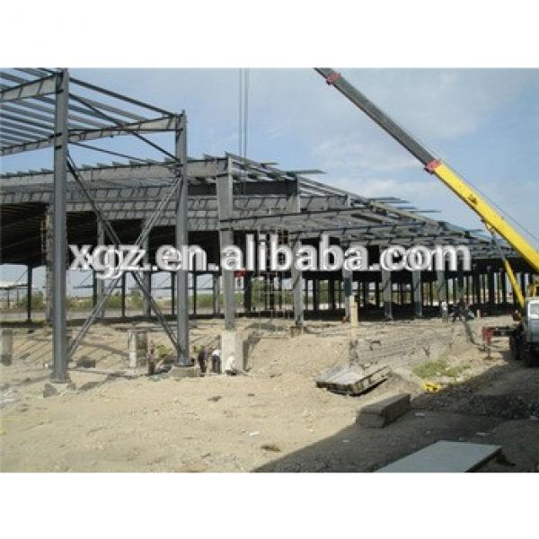 qualified multifunctional steel frame plant fabrication pre engineered #1 image