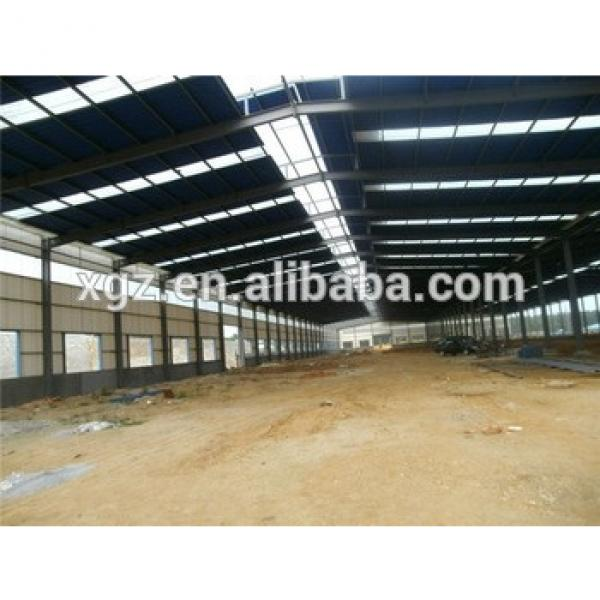 well welded sandwich panel galvanized steel structure building #1 image
