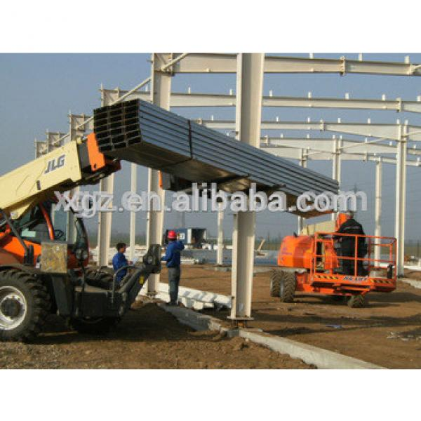 used prefabricated Steel Building for workshop #1 image