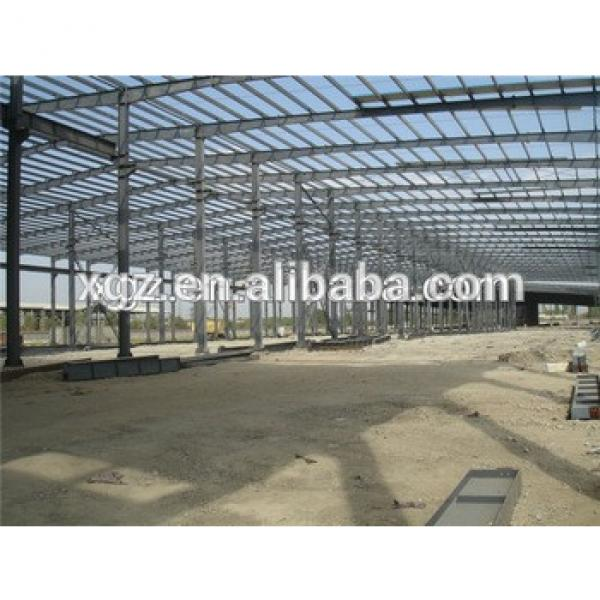light weight well welded low price prefabricated construction plant #1 image