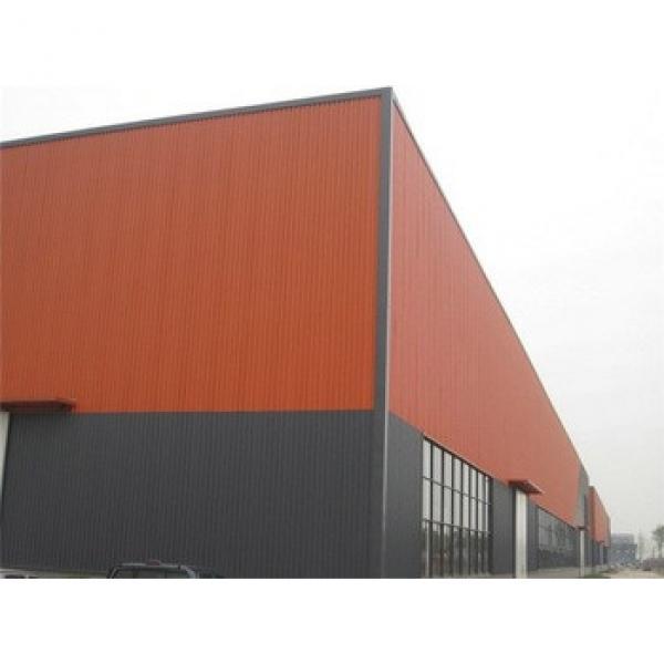 framing rockwool sandwich panel warehouse workshop #1 image