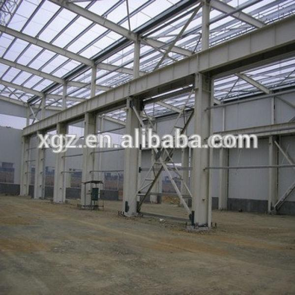 steel construction ISO & CE certificated metal frame steel structure plant/ warehouse/workshop #1 image