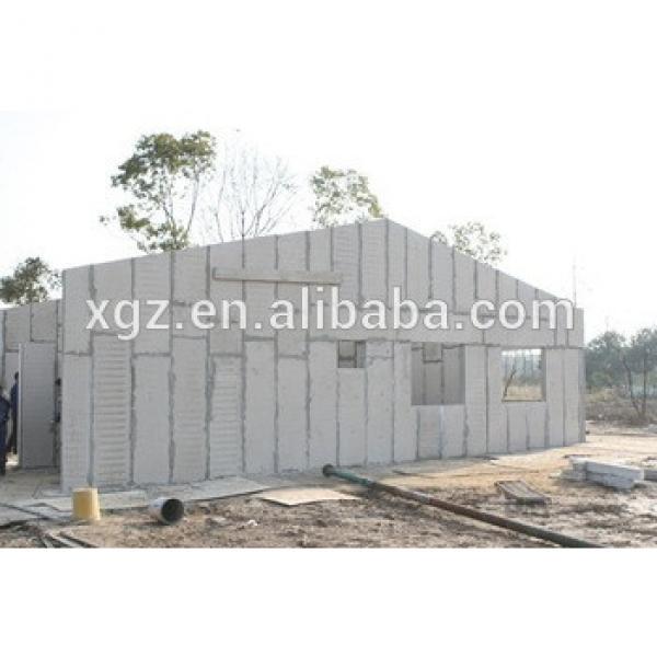 2015 prefabricated lightweight eps sandwich cement board house #1 image