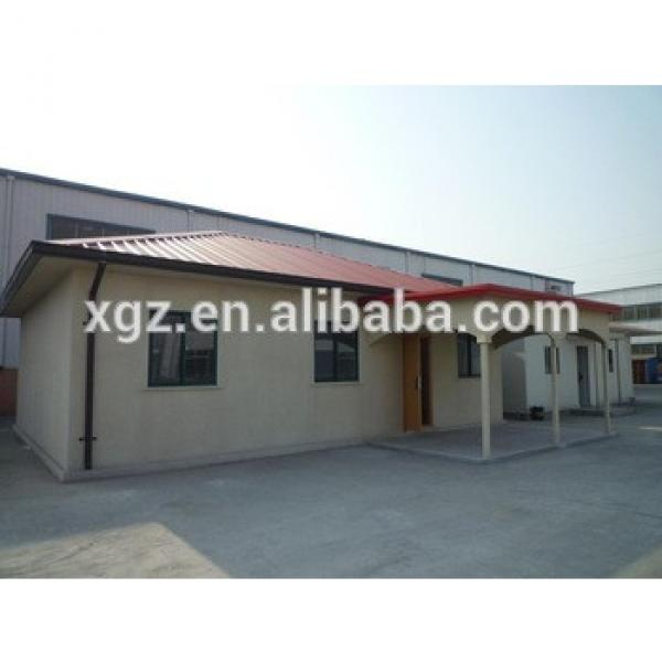 China manufacturers small steel construction building prefabricated house #1 image