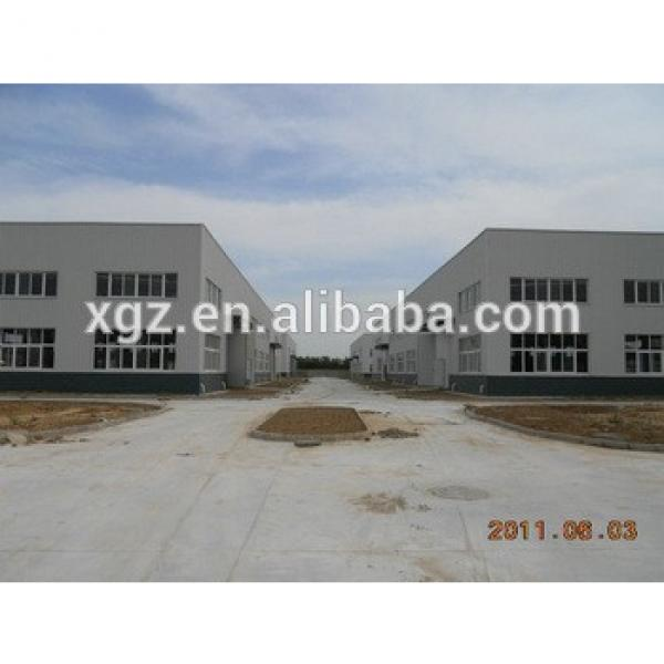 prefabricated qualified premade steel structure workshop #1 image