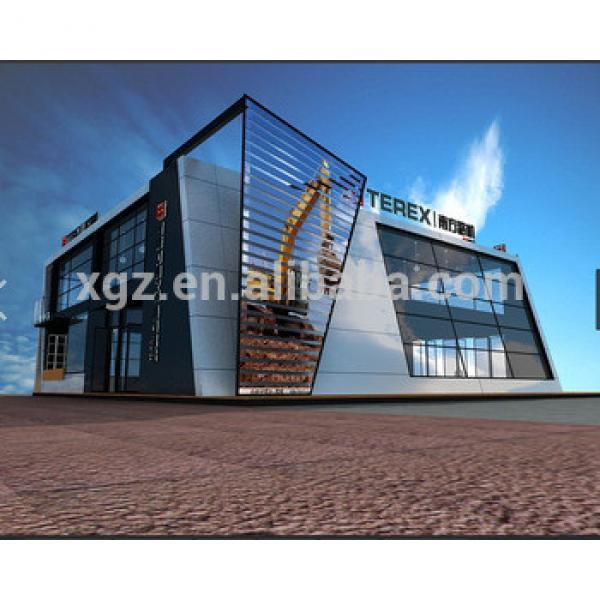 prefabricated steel structure shopping mall #1 image