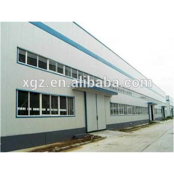 portal customized prefabricated insulated steel workshop #1 image