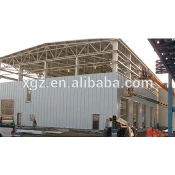 high strength turnkey project ethiopia prefabricated workshop #1 image