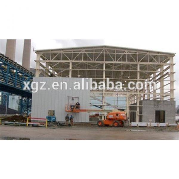 removable fast construction cheap ready-made steel structure workshop for sale #1 image
