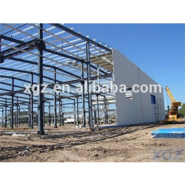 prefabricated durable metal frame tire workshop #1 image