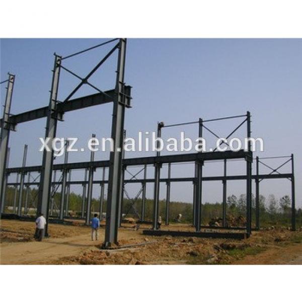 prefabricated high strength pre engineered steel workshop plans #1 image