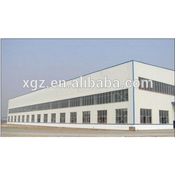 easy assembly pre-made prefabricated steel factory shed building #1 image