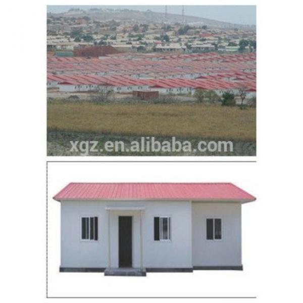 Prefab durable fast construction economic steel house #1 image