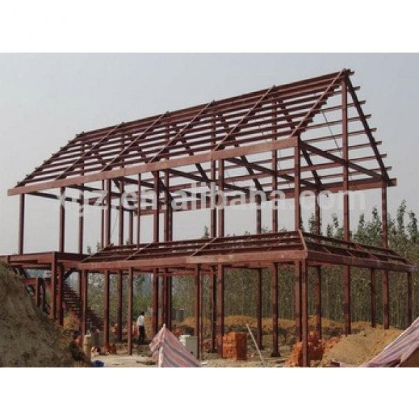 tow storey fast construction prefab light steel structure house #1 image