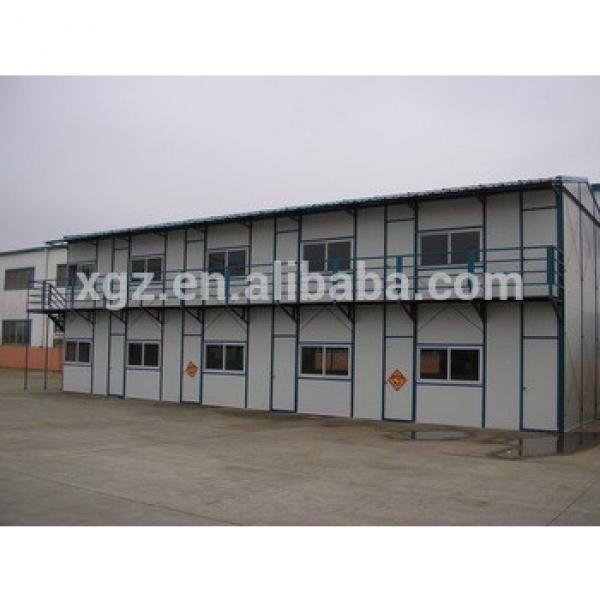 two storey prefab sandwich panel sheet metal houses #1 image