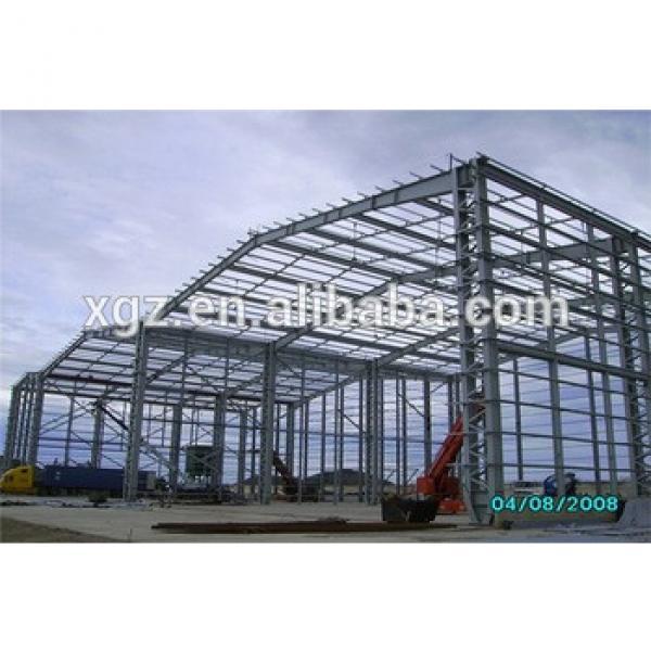fast erection cost-effetive prefabricated design of workshop #1 image