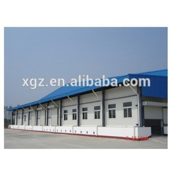 Cheap Prefabricated Steel House,with Light Steel Frame and Sandwich Panels #1 image