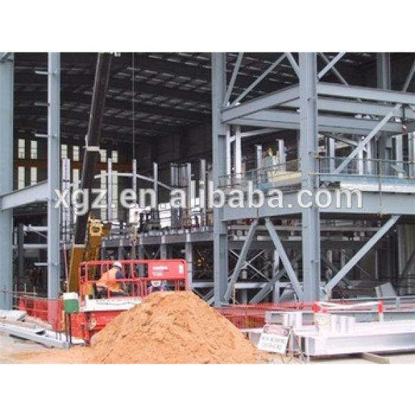 industry with mezzanin low cost prefabricated steel structure workshop #1 image