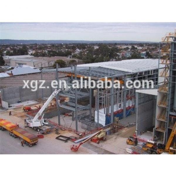 fast construction fast install steel structure workshop building #1 image