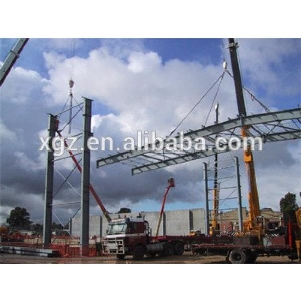 steel structure ISO & CE certificated prefab workshop kits #1 image