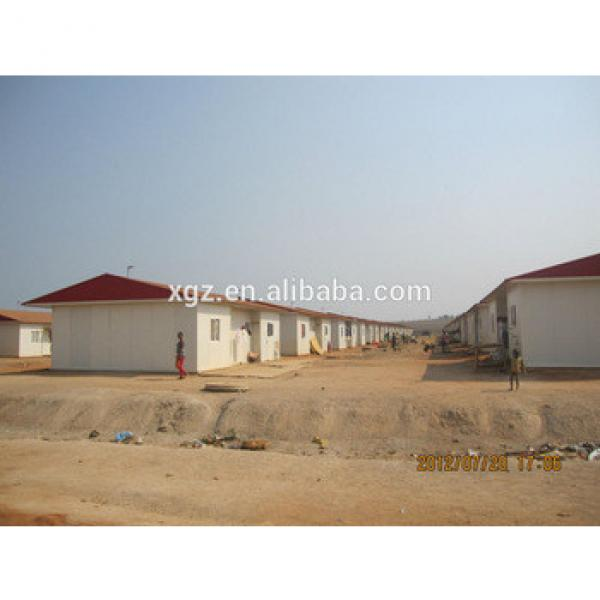 best selling low cost nice prefab house kits in angola #1 image