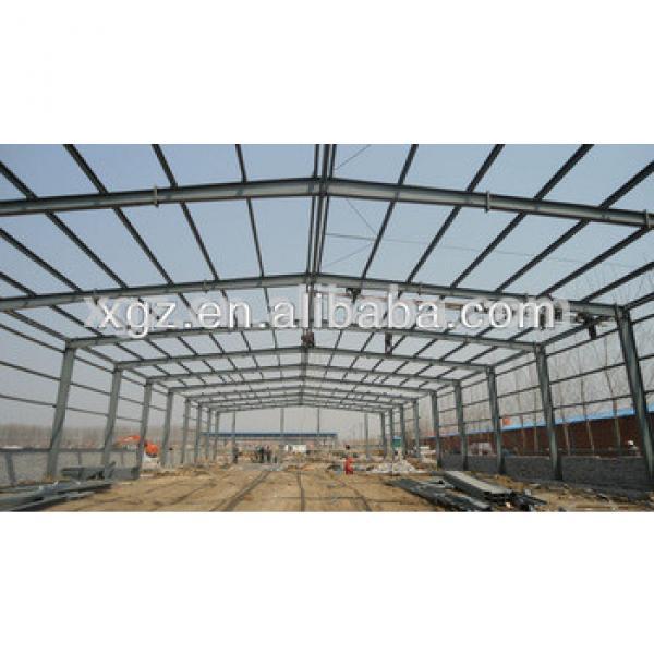 Construction building warehouse/workshop design prefabricated steel columns #1 image