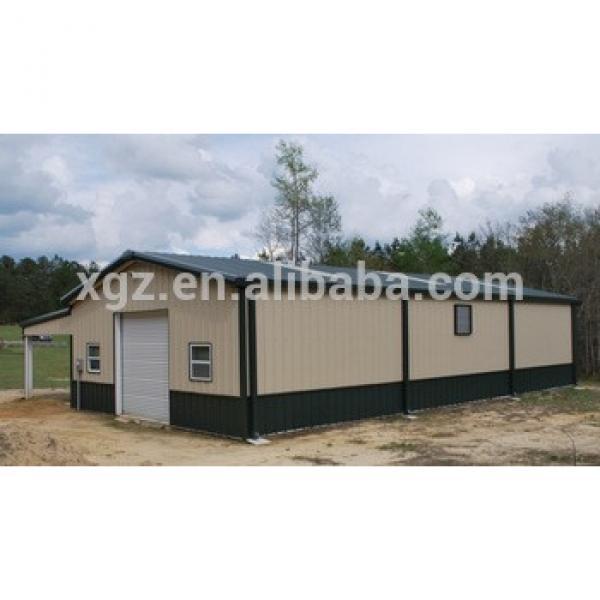 high quality modernized cheap small steel frame house #1 image
