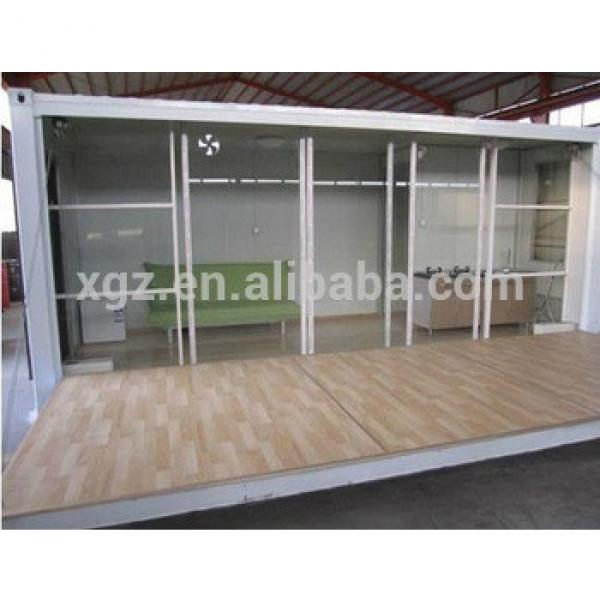 china shipping prefab container home design #1 image