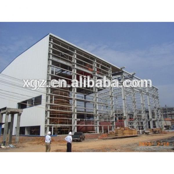 Steel Structural Prefabricated Warehouse with factory #1 image