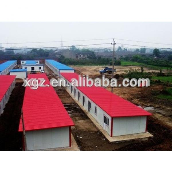 quick assembled low cost prefab house for worker accommodation #1 image