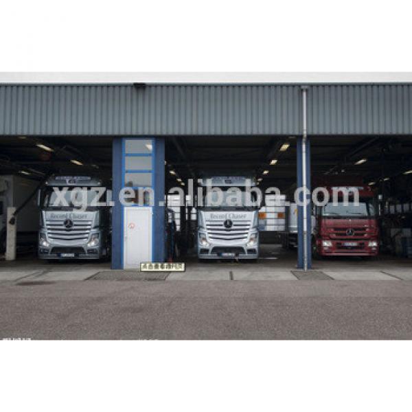 steel frame warehouse for garage #1 image