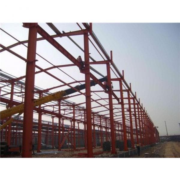 Rockwool Sandwich Panel Construction Design Light Steel Frame Factory Structure Workshop #1 image