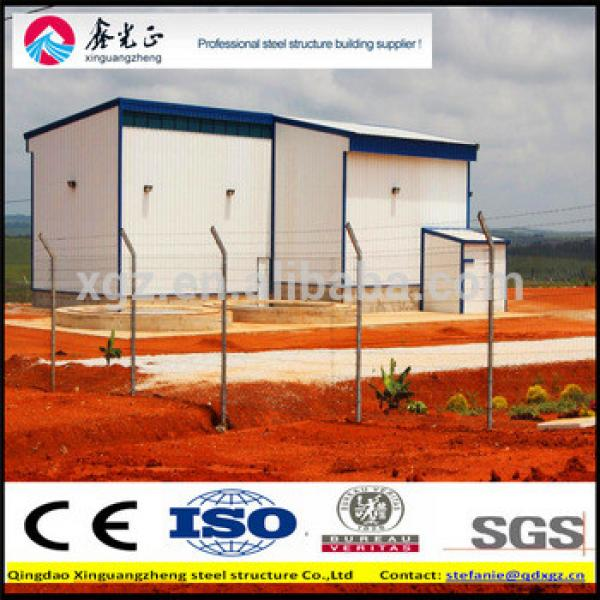 iso certificate steel structure warehouse #1 image