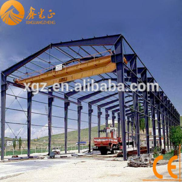 Prefabricated warehouse large-span steel structural buildings shed for sale #1 image