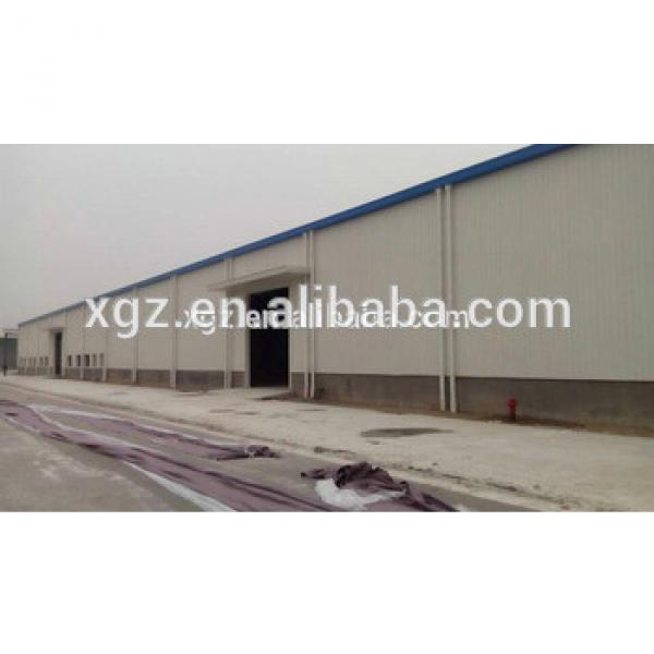 structural steel prefabricated warehouse for Hisense logistics #1 image