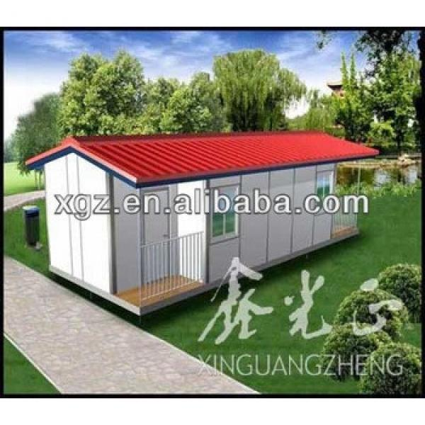 Low cost easy assemble movable house living quarters #1 image