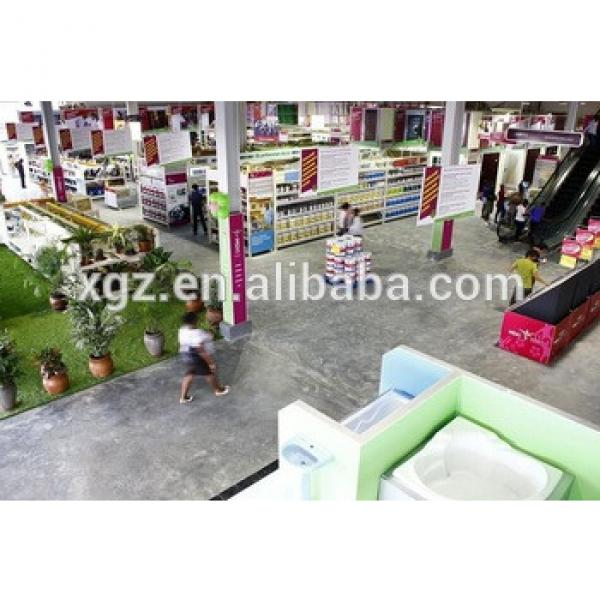 prefabricated steel structure shopping mall design #1 image