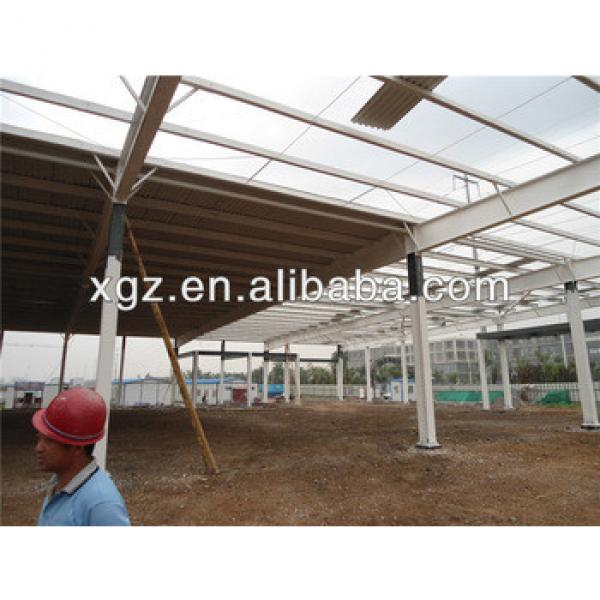 prefabricated structure steel structure workshop building #1 image