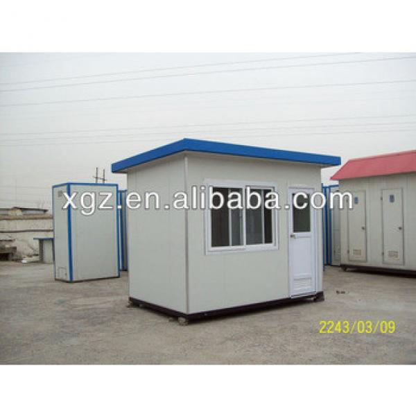 small steel structure prefab house with allumimum windows&doors #1 image