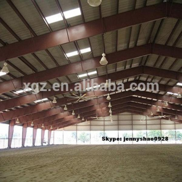steel structure horse arena #1 image