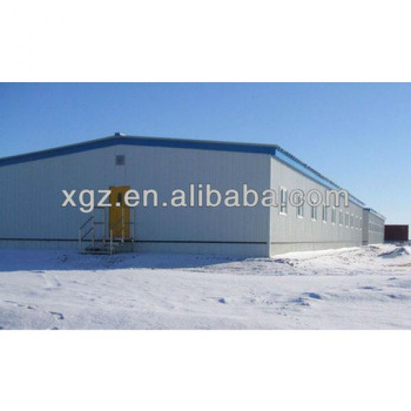 warm keeping steel structure shed for pig #1 image