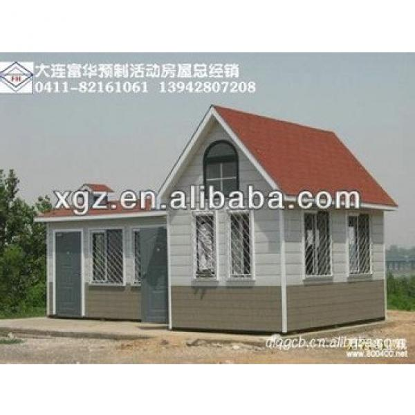 Hipped roof steel frame prefabricated house for sale #1 image